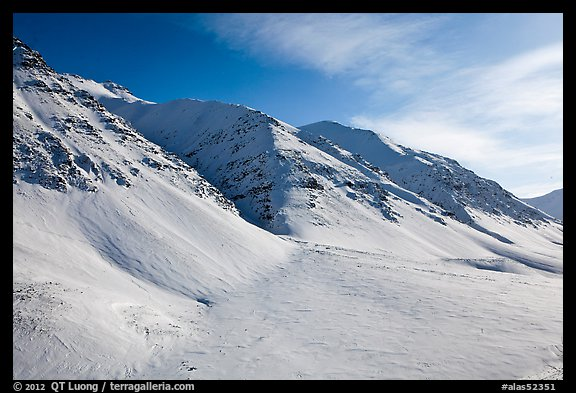 Arctic Mountains near continental divide. Alaska, USA (color)
