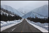 North Slope Haul Road. Alaska, USA ( color)