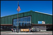 Post office. North Pole, Alaska, USA (color)