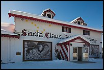 Santa Claus House facade. North Pole, Alaska, USA ( color)