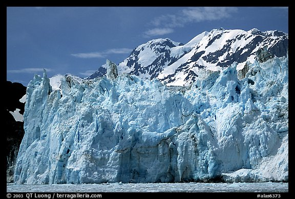 Surprise glacier. Prince William Sound, Alaska, USA (color)