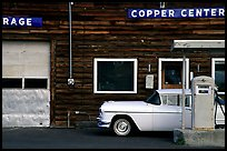 Gas station at Copper Center. Alaska, USA ( color)