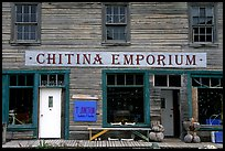 Chitina Emporium. Alaska, USA (color)