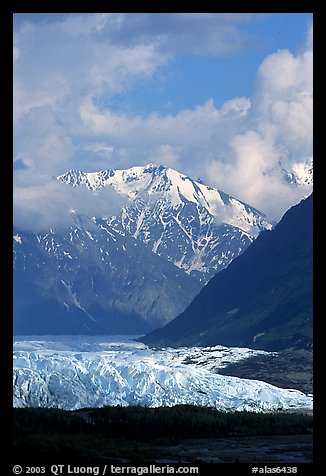 Matanuska Glacier. Alaska, USA (color)