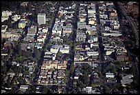 Aerial view of downtown. Palo Alto,  California, USA ( color)