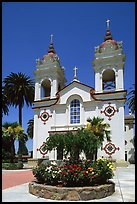 Portuguese Cathedral. San Jose, California, USA (color)