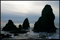 Seastacks, Rodeo Beach, afternoon. California, USA ( color)