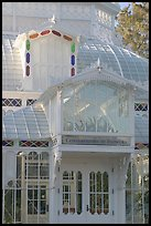 Conservatory of the Flowers, Golden Gate Park. San Francisco, California, USA ( color)