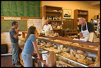 Shopping at the Cheese Board. Berkeley, California, USA