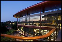 James Clark Center, dusk. Stanford University, California, USA ( color)