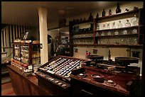Interior of apothicary store, Old Town. San Diego, California, USA ( color)