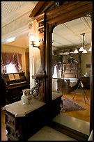 Last room of Sarah Winchester. Winchester Mystery House, San Jose, California, USA ( color)