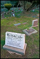 Pet cemetery, Colma. California, USA (color)