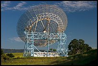 Astronomical Antenna known as The Dish. Stanford University, California, USA (color)