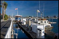Harbor. Marina Del Rey, Los Angeles, California, USA ( color)