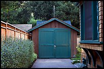 Garage where Hewlett-Packard started. Palo Alto,  California, USA ( color)