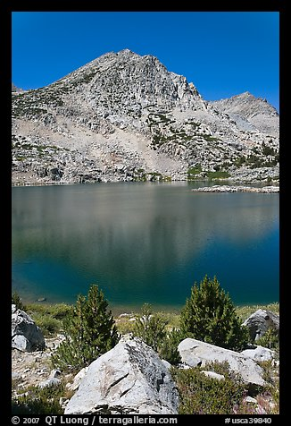 Saddlebag lake, John Muir Wilderness. California, USA (color)