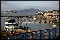 Pier 39. San Francisco, California, USA (color)
