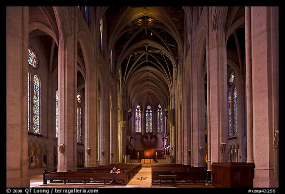 Picture/Photo: Grace Cathedral interior  San Francisco