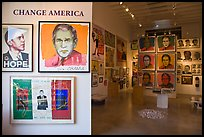 Political art, Bergamot Station. Santa Monica, Los Angeles, California, USA ( color)