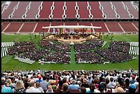 Stanford University commencement. Stanford University, California, USA ( color)