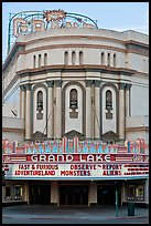 Grand Lake theater. Oakland, California, USA ( color)