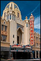 Moorish style Oakland Fox Theater. Oakland, California, USA ( color)