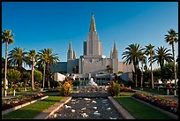 Oakland California LDS (Mormon) Temple. Oakland, California, USA ( color)