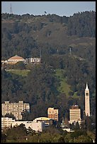 University of California and hills. Berkeley, California, USA ( color)