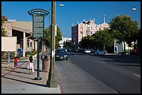 Downtown. Watsonville, California, USA (color)