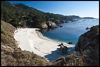 Gibson Beach. Point Lobos State Preserve, California, USA (color)