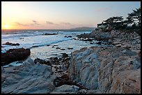 Butterfly house at sunset. Carmel-by-the-Sea, California, USA (color)