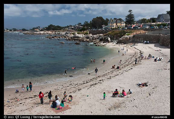 Picnic Lover S Point Beach Pacific Grove California Usa