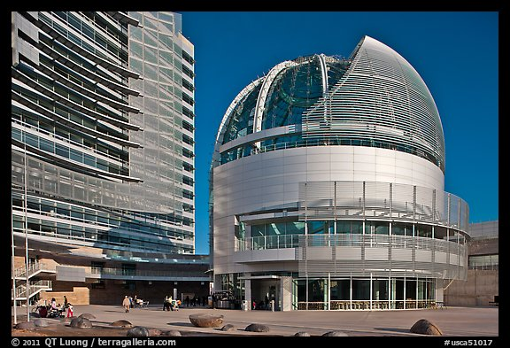Rotunda, San Jose City Hall. San Jose, California, USA (color)