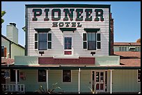 Pionneer Hotel. Woodside,  California, USA ( color)