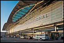 San Francisco International Airport. California, USA (color)
