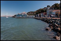 Waterfront, Sausalito. California, USA ( color)