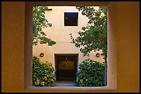 Adobe style architecture, Schwab Residential Center. Stanford University, California, USA ( color)