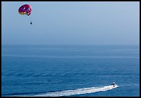 Parasailing, Avalon, Santa Catalina Island. California, USA ( color)