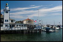 Yacht club and casino, Avalon, Catalina Island. California, USA ( color)