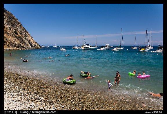 Descanso Beach Avalon Santa Catalina Island California Usa