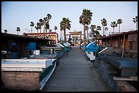 Dory Fishing Fleet market. Newport Beach, Orange County, California, USA ( color)