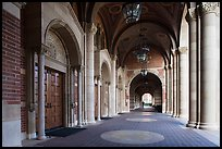 Royce Hall gallery, UCLA, Westwood. Los Angeles, California, USA ( color)