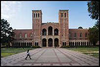 Royce Hall, UCLA landmark, Westwood. Los Angeles, California, USA ( color)