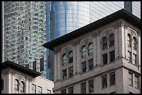 Stone and glass buildings in downtown. Los Angeles, California, USA ( color)