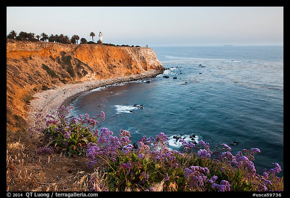 Point Vicente Lighthouse. Los Angeles, California, USA (color)