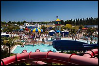 Legoland Waterpark from the top, Carlsbad. California, USA ( color)