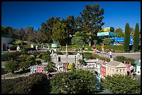 Miniland USA miniature park, Legoland, Carlsbad. California, USA ( color)