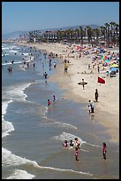 Beach, Oceanside. California, USA ( color)