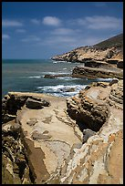 Coastline, Cabrillo National Monument. San Diego, California, USA ( color)